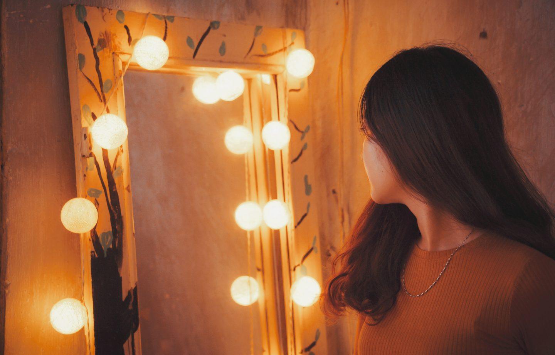 En étant plus boulimique, j'ai beaucoup moins de difficulté à regarder mon corps devant le miroir.